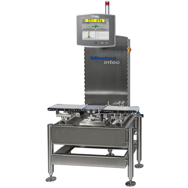 Hygienic Design meets High Speed: the New Checkweigher from Minebea Intec