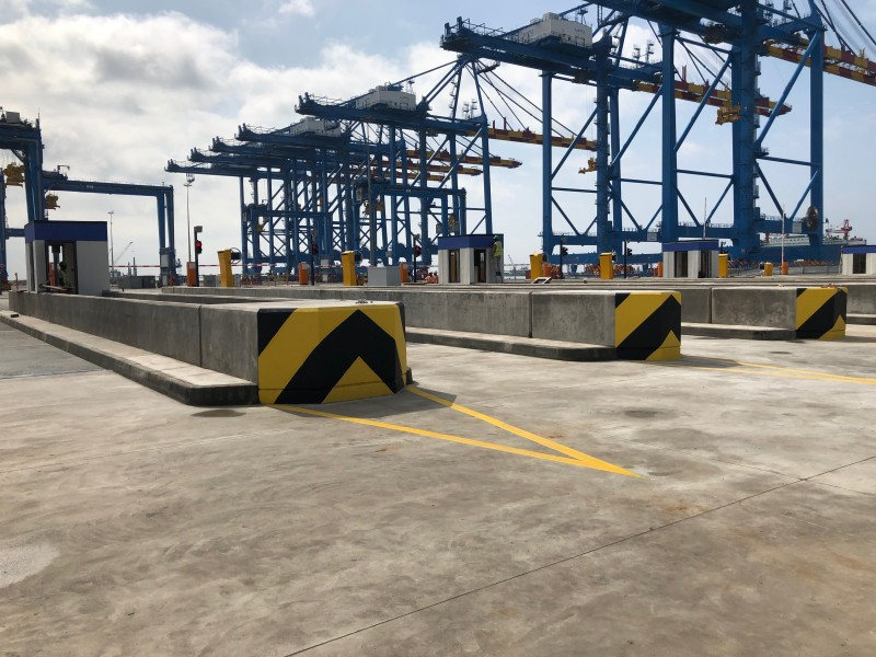 Giropès' Macro Installation of 23 Weighbridges in Port of Ghana