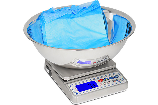 DETECTO's New Digital Scale with Utility Bowl for Precision Clinical Use