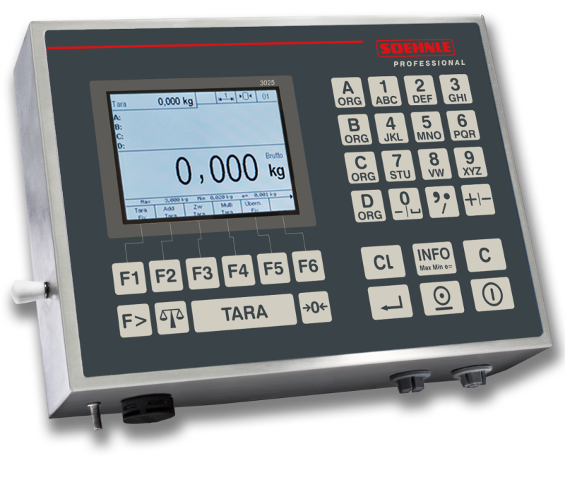 New Soehnle Terminal 3025, for various applications