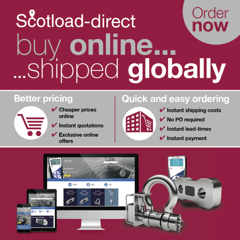 Scotload launches International Delivery for Online Customers