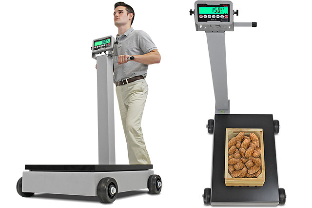 Cardinal/Detecto's Rolling Column Scales Now Available with Rechargeable Battery Power