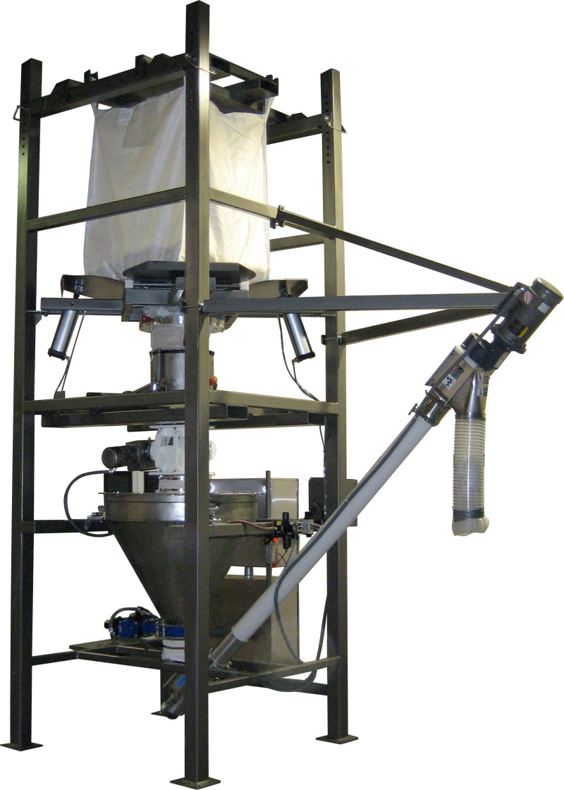 New Custom Bulk Bag Unloading Systems by Sterling Systems & Controls, Inc.