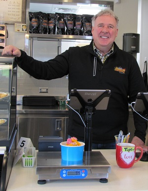 Frozen Yogurt Business Streamlines Checkout Process with Brecknell 6720U