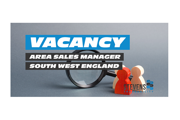 Job Offer by Stevens Traceability Systems - Area Sales Manager – South West