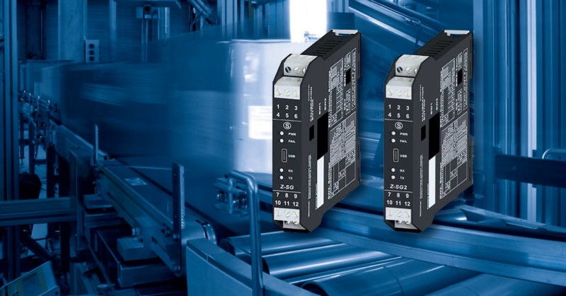 SENECA launched the New Z-SG2 Load Cell Converter