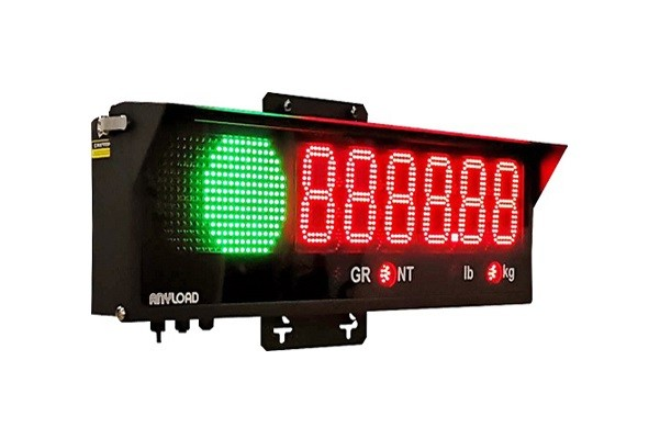 Anyload Industrial Remote Display with Built-in Traffic Light