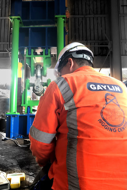 Gaylin Installs 600t Load Cell Calibration Machine in Singapore