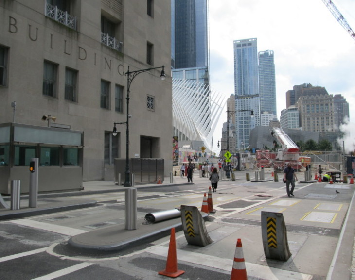 World Trade Center Enhanced Security with Intercomp AX900™ Axle Scales