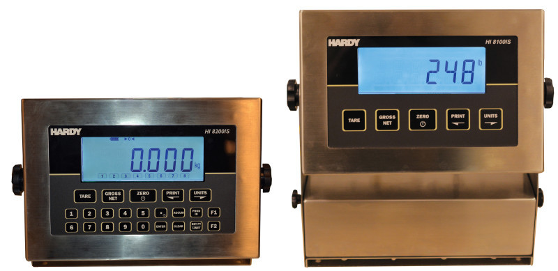 New Hardy HI 8000IS Intrinsically Safe Weighing Instruments for Process Control in Hazardous Areas