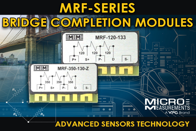 New Micro-Measurements Bridge Completion Modules (BCM) Improve Quality of Strain Measurements for Broad Range of Applications