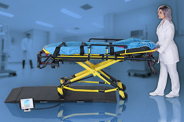 "DETECTO Stretcher Scales Provide a ""Weigh"" to Save Time in Emergencies"