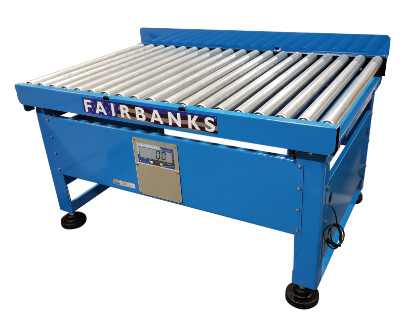 Fairbanks Scales announces New Roller Conveyor Scale for manual conveyor weighing