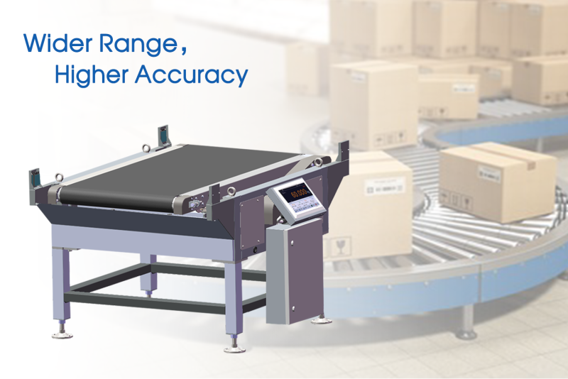 General Measure re-design Checkweigher CW-60K for Warehousing and Logistics