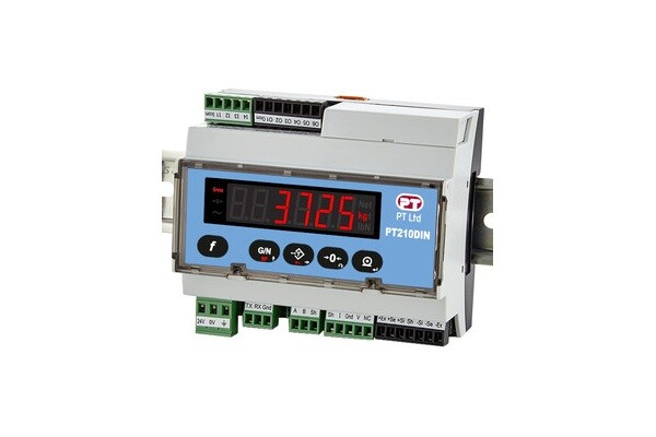 New PT Limited PT210DIN Release - Smart indicator for Industrial Weighing