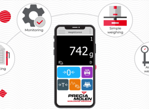 PRECIA MOLEN's New smartphone app Weigh2Control: connected weighing, remotely!
