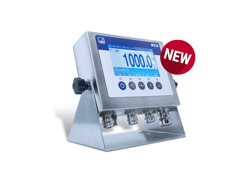 New Legal-For-Trade HBK WTX110-D Weighing Terminal for Industrial Environments