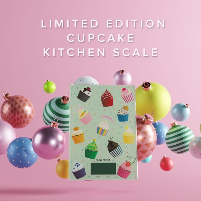 Salter Cupcake Digital Kitchen Scale - Limited Edition