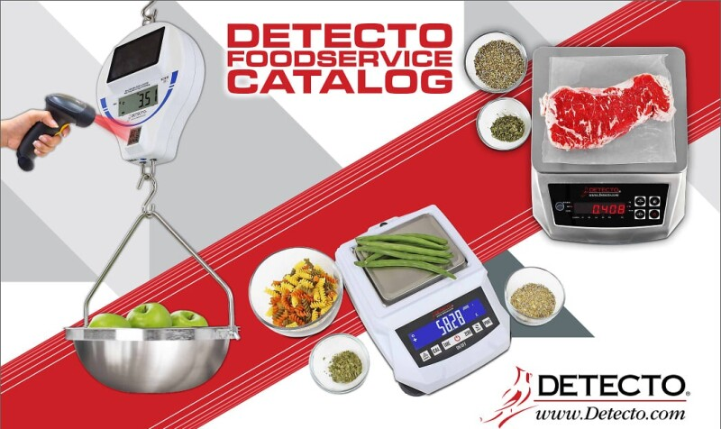 New DETECTO's Foodservice 2021 Digital Catalog