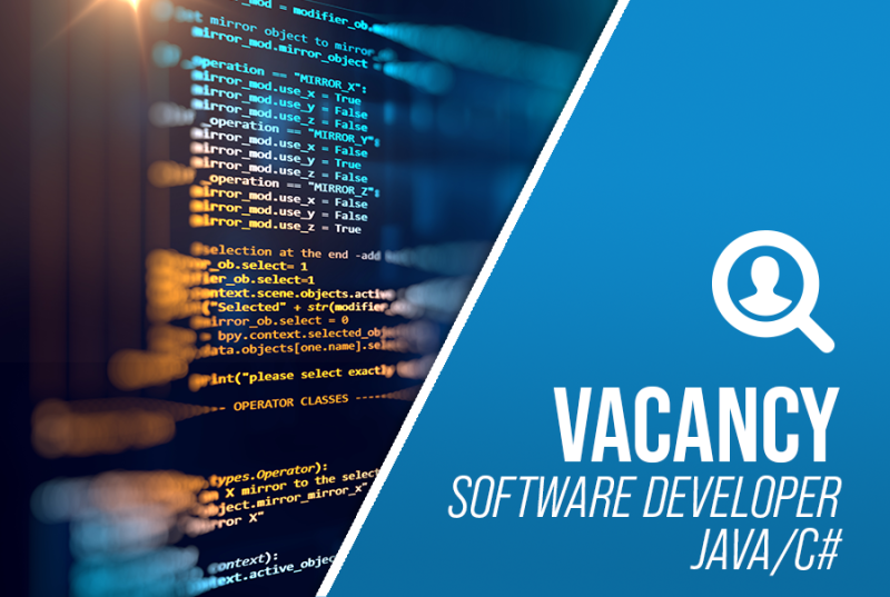 Job Offer By Stevens Traceability Systems - Software Developer – Java/C#