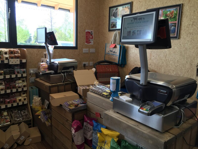 Avery Berkel Case Study - Court Farm Shop