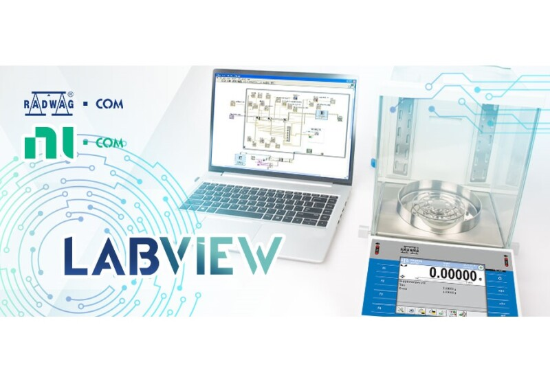 New RADWAG Driver for LabVIEW Software