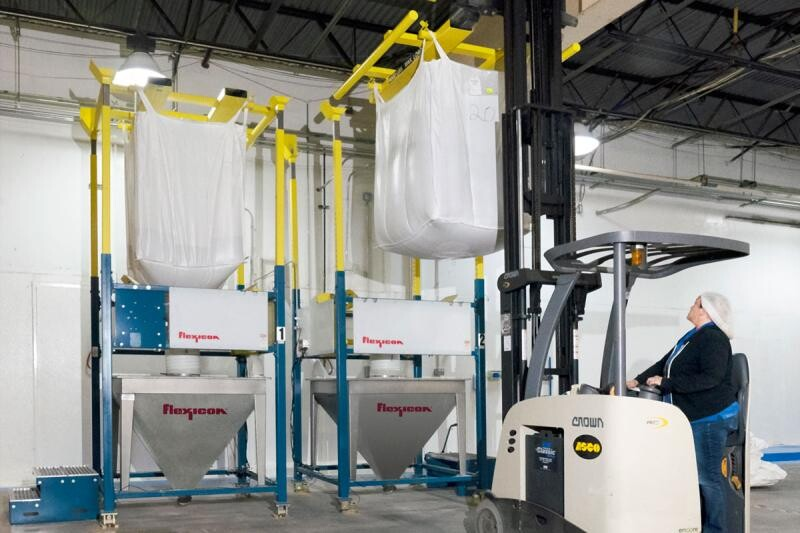Humanitarian Food Relief Increased Sevenfold with Flexicon Bulk Handling System