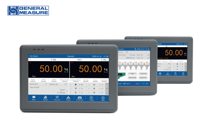 Upgrading General Measure Weighing Controller GM9907 Series with Various Application Software