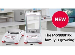 OHAUS Portfolio Extension - The Pioneer® PX family is growing