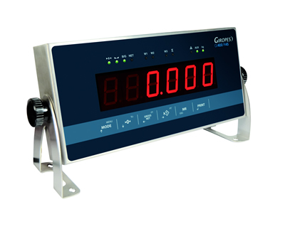 New GI400 R45 Weighing Repeater and Indicator from Giropès
