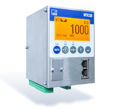 HBM's New Legal-For-Trade Weighing Terminal with PROFINET, EtherNet/IP and PROFIBUS