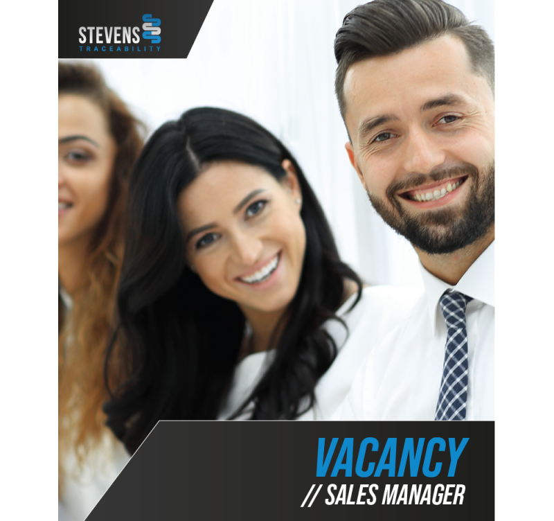Job Offer By Stevens Traceability Systems - Sales Manager