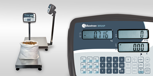 Giropès Launched the New Weighing Indicator BR25P