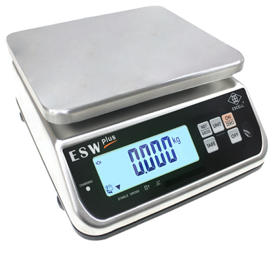 EXCELL receives EU-Type Approval for its IP68 Waterproof Weighing Scales ESW Plus & ELW Plus