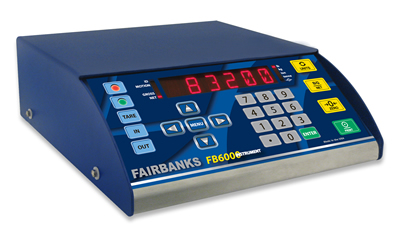 Fairbanks Scales announces latest generation FB6000 Weighing Instrument with intuitive Web Interface