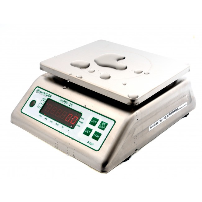 Marsden B-100 Bench Scale now available with greater capacity