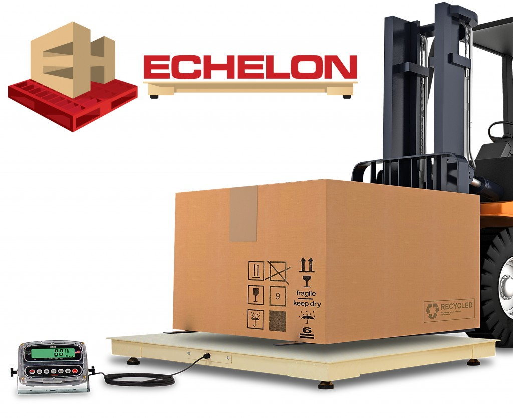 Cardinal Scale's New Echelon EH Series Economical Floor Scales