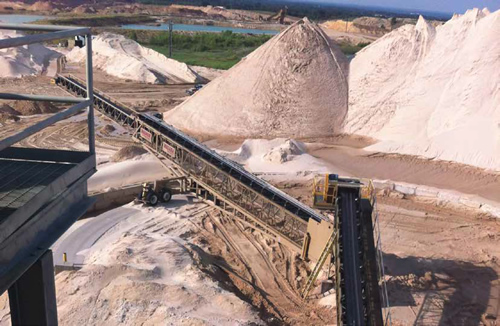 Take the guesswork out of managing your sand stock with Siemens Weighing Technology
