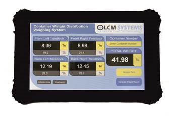 LCM Systems Release New SOLAS Compliant Container Weighing System