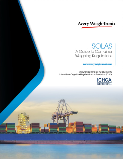 Avery Weigh-Tronix' FREE Guide to Container Weighing Regulations - SOLAS