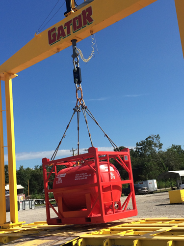 Gator Test Rig Utilizes Straightpoint Load Cells