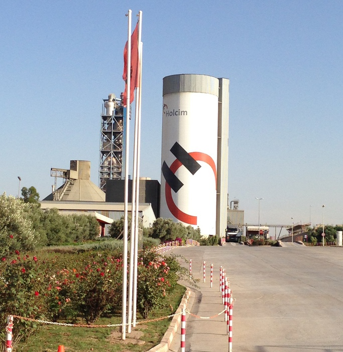 Holcim Morocco counts on the IT-Logistic Solution VAS from FRITZ & MACZIOL