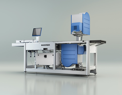 Weighing and Labeling in the smallest of spaces with the New GLM-Emaxx from Bizerba
