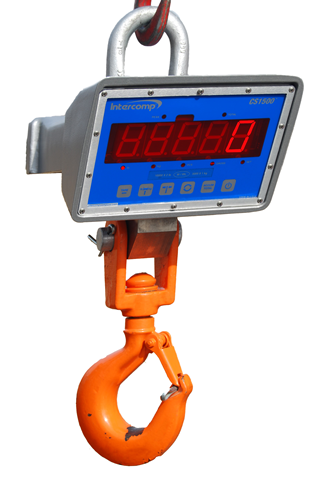 New and Improved Intercomp CS1500™ LED Crane Scale