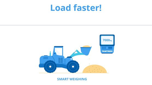 Tamtron's New Video about the Power Smart Weighing technology for Wheel Loader Scales