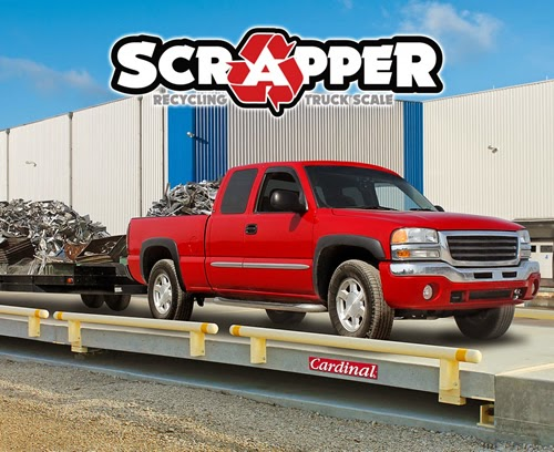 Cardinal Scale's New Scrapper Recycling and Salvage Industry Truck Scales