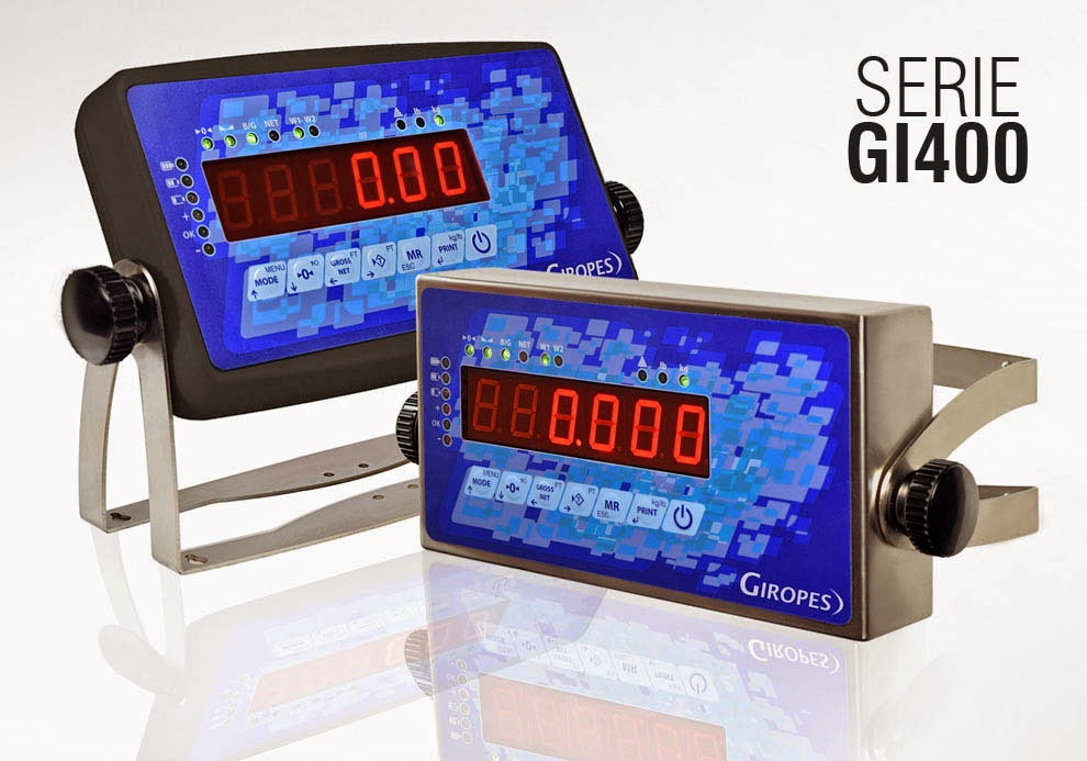 Giropès launches its New Series of Multi-function Weighing Indicators GI400