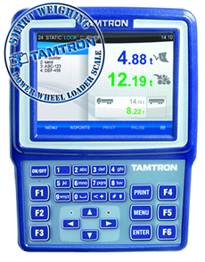Tamtron's New Power Smart Weighing technology for Wheel Loader Scales out in March