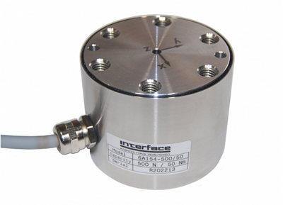 Interface Announces the New Model 6AXX Family of 6-Axis Load Cells
