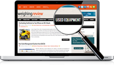 New feature on Weighing Review - Used Equipment